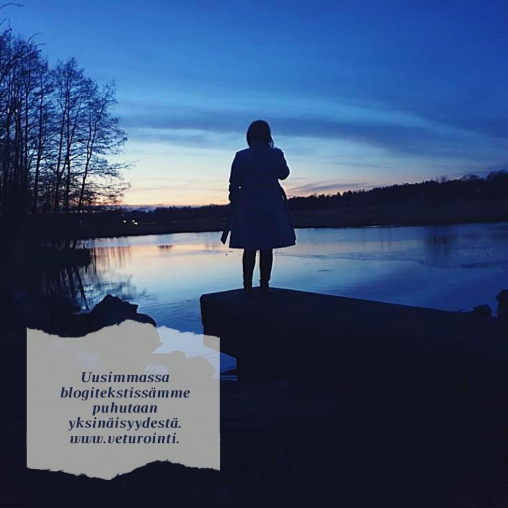 Uusimmassa blogitekstissämme puhutaan yksinäisyydestä.